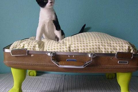 домик из чемодана